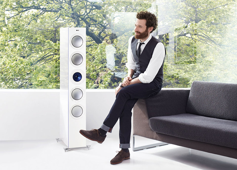 KEF Reference luidsprekers bij Lexicom MultiMedia